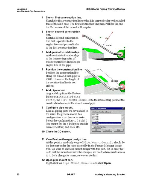 Solidworks Piping Training Manual