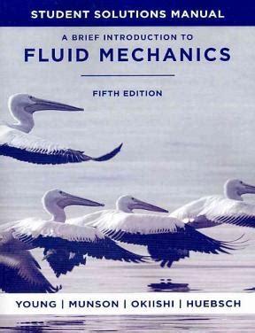 Solution Manual A Brief Fluid Mechanics