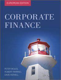 Solution Manual Corporate Finance 1st European Edition