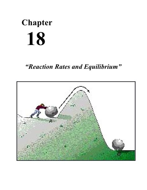 Solution Manual For Ch 18 Chemical Equilibrium