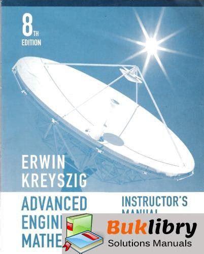 Solution Manual For Erwin Kreyszig 8th Edition