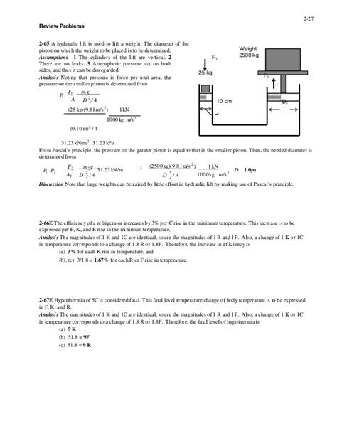 Solution Manual For Thermal Fluid Sciences