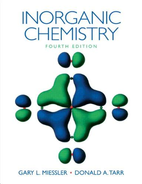 Solution Manual Inorganic Chemistry Miessler 4th Edition