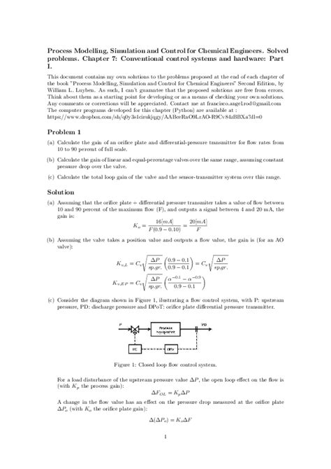 Solution Manual Luyben