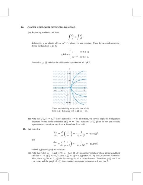 Solution Manual Of Differential Equations By Blanchard