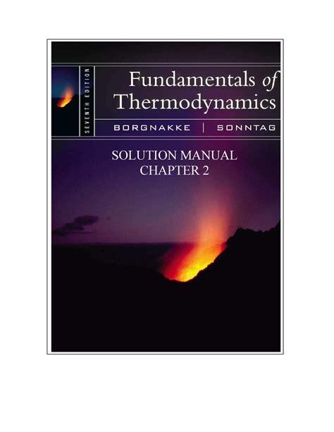 Solution Manual Thermodynamics Seventh Edition