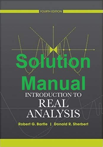 Solution Manual To Introductory Real Analysis