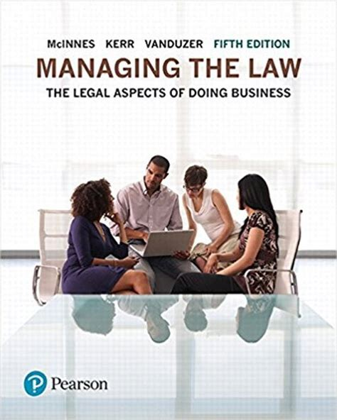 Solution Manual To Managing The Law