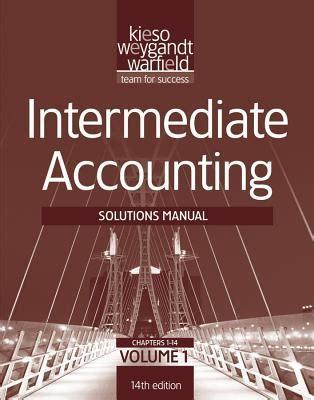 Solution Manual V1 Ta Intermediate Accounting 14th Edition