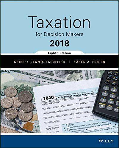 Solutions Manual For Taxation For Decision Makers