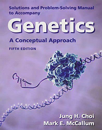 Solutions Manual Genetic Analysis