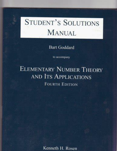 Solutions Manual To Elementary Number Theory