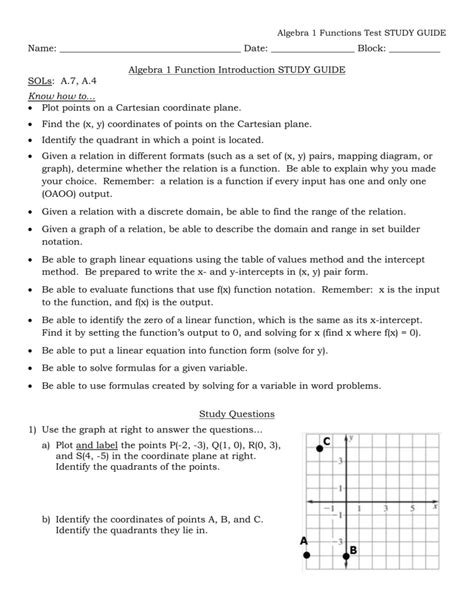 Solving Systems Of Equations Test Study Guide