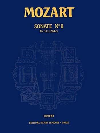 Sonate N 8 Kv311