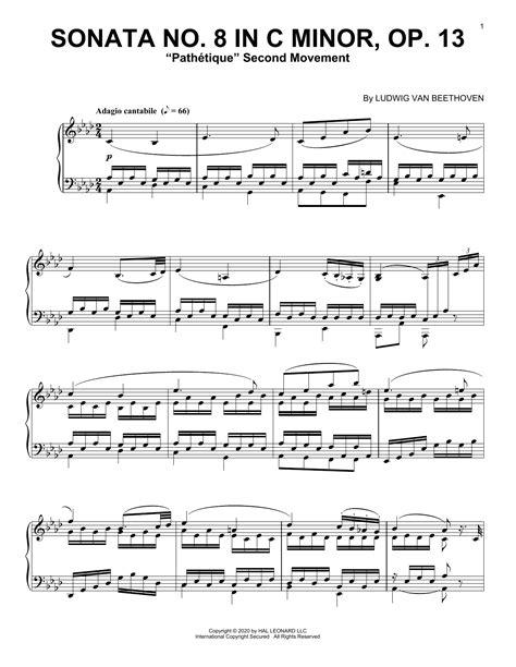 Sonate Op 13 Do Min Pathetique Piano