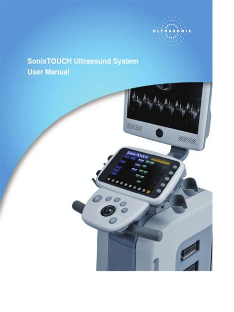 Sonixtouch User Manual