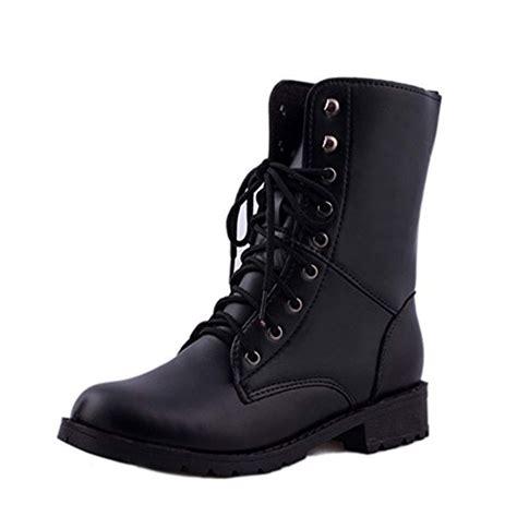 Sonnena Bottes Femme Bottes Boots Flattie Sport Chaussures Classiques Bottines A Lacets