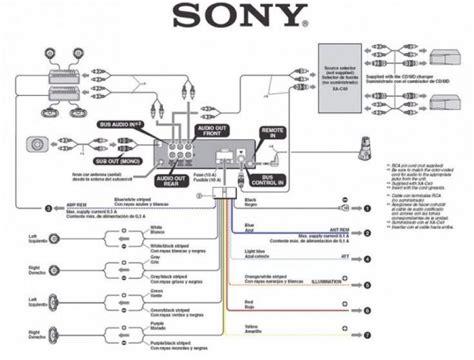 Sony Xplod Wiring Diagram Cdx Gt08