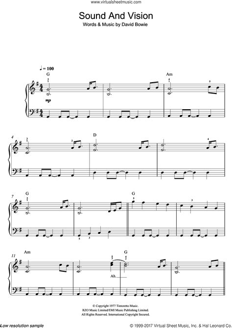 Sound And Vision Music Video Reader