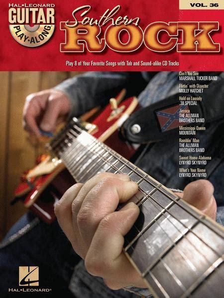 Southern De Rock Guitar Play Along Volume 36