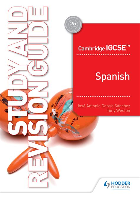 Spanish Igcse Revision Guide