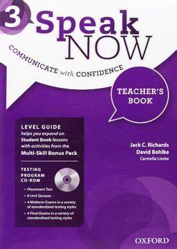 Speak Now 3 Teacher S Book Pack