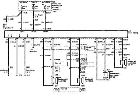 Speaker Wire Diagram F 150 Fx2 2011