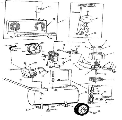 Speedaire Regulator Manual
