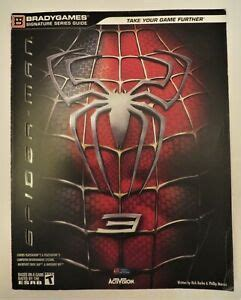 Spider Man 3 Signature Series Signature Series Guide