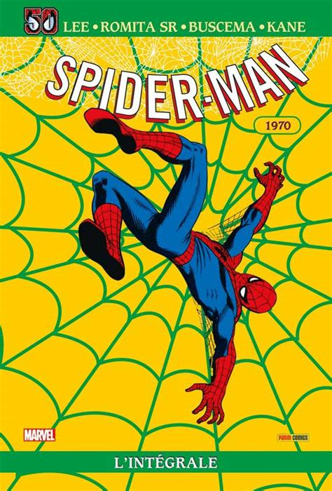 Spider Man Integrale T08 1970 Ed 50 Ans