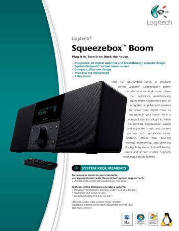 Squeezebox Boom User Guide