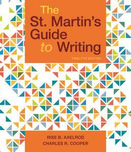 St Martins Guide