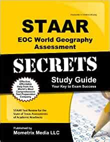 Staar World Geography Secrets Study Guide