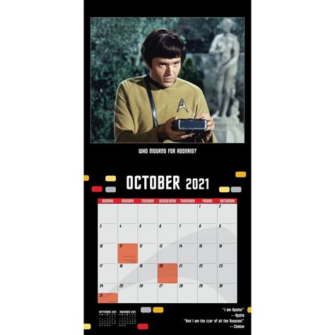 Star Trek 2015 Wall Calendar The Original Series