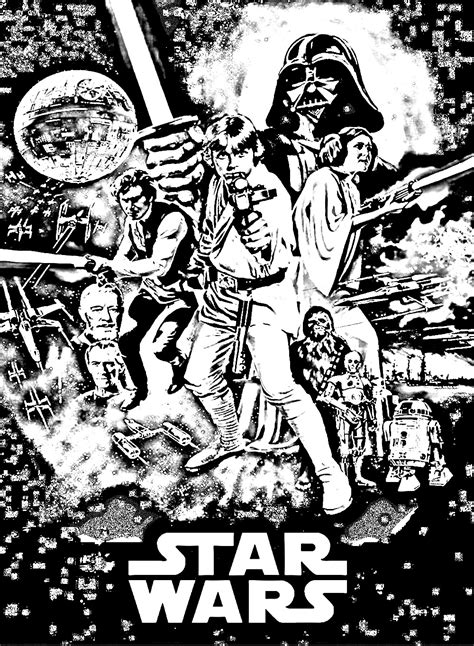Star Wars: adults coloring book
