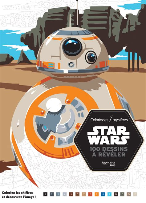 Star Wars Coloriages Mysteres