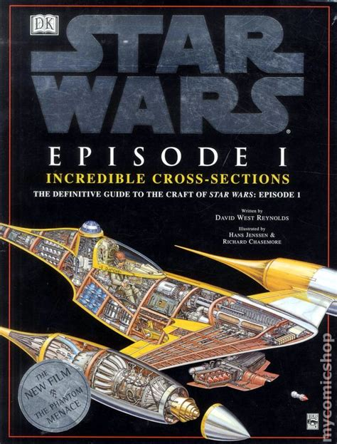 Star Wars Episode 1 Incredible Cross Sections