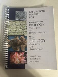 Starr Taggart General Biology Lab Manual Answers