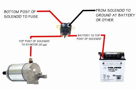 Start Solenoid Wiring Diagram