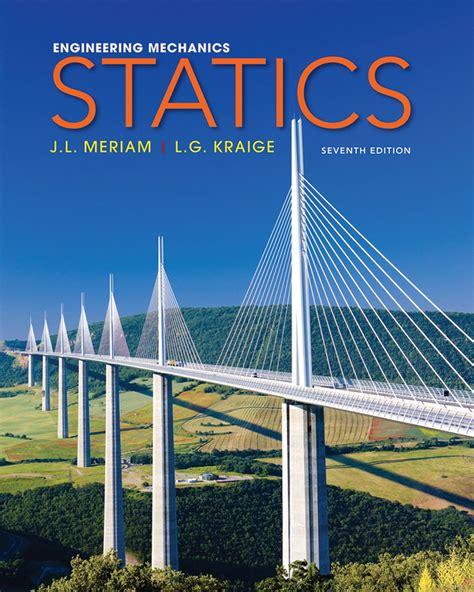 Static Meriam 7th Edition