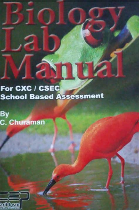 Stc Biology Lab Manual