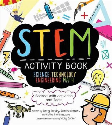 Stem Activity Book Science Technology Engineering Math Packed With Activities And Facts Science Technology Engineering Math Stem