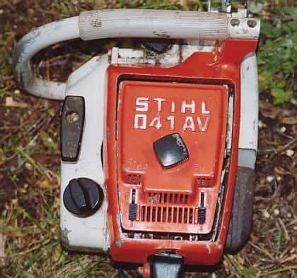 Stihl 041 Av Power Tool Service Manual