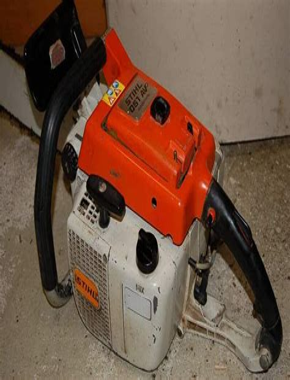 Stihl 051 Service Manual