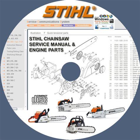 Stihl Parts Manual