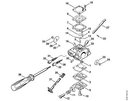 Stihl Weedeater Fs 80 Carburetor Manual