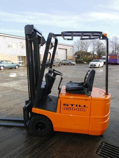 Still Electronic Fork Truck Forklift R50 10 R50 12 R50 15 Series Service Repair Workshop Manual