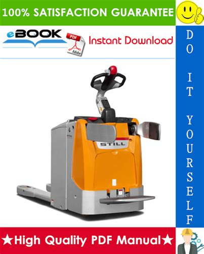 Still Exu Electric Pallet Truck Service Repair Workshop Manual