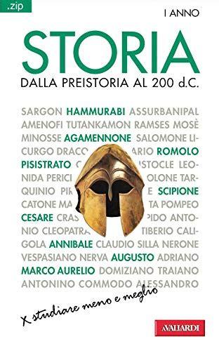 Storia Dalla Preistoria Al 200 D C Sintesi Zip