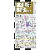 Streetwise Denver Map Laminated City Center Map Of Denver Colorado Michelin City Plans